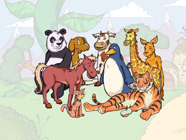 Animal Kids Screensaver 1.0 full