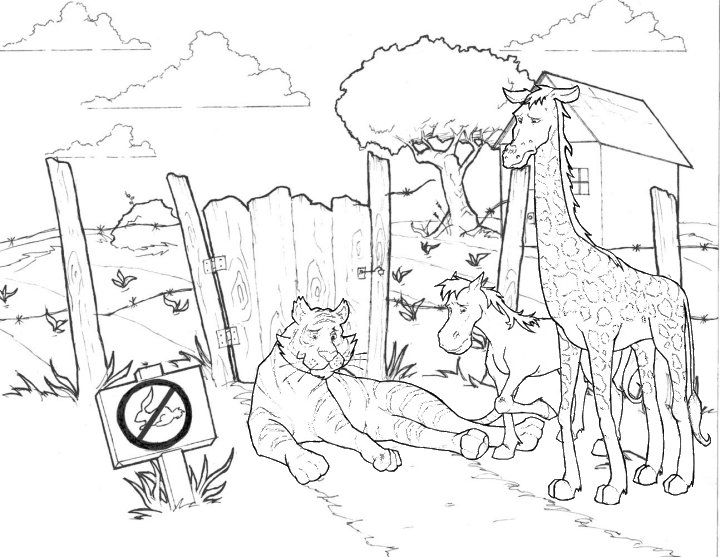 horses coloring pages. Horse coloring pages
